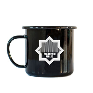 Enamelware Crown Mug (Black)