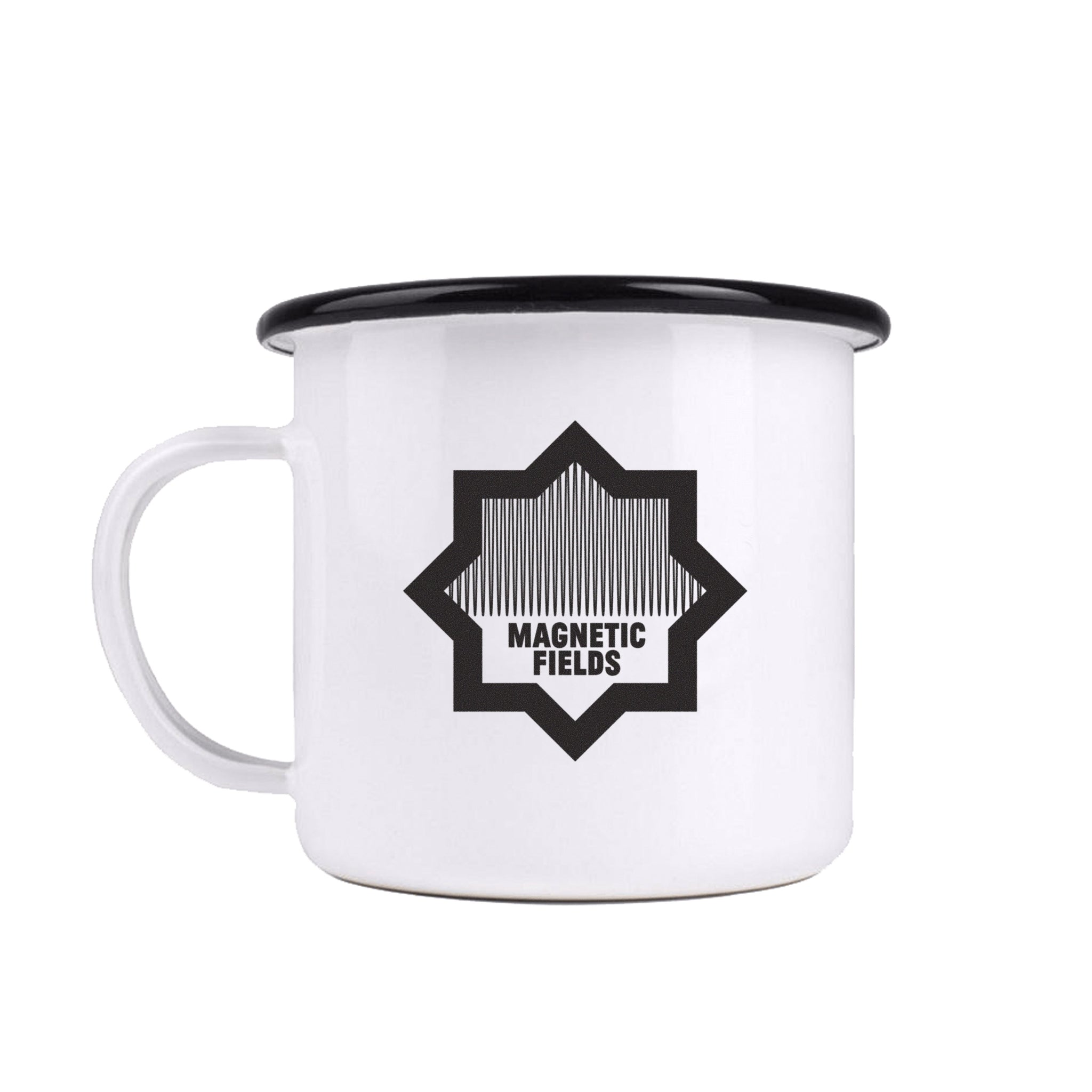 Enamelware Crown Mug (White)