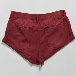 studio-j-ee - One Teaspoon Red Envy Bandit Shorts - One Teaspoon