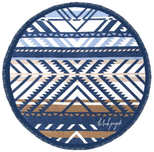 studio-j-ee - The beach people round beach towel - The beach people