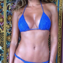 Nvme triangle bikini top blue studio jee