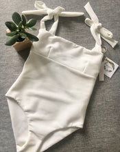 Indie one-piece by Citrine Swimwear in ivory