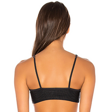 Greer Bikini Top by Frankies Bikinis in black