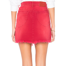 One Teaspoon Red envy beachwear skirt