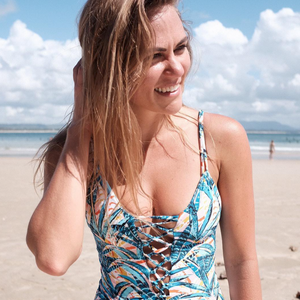 tropical MARLA Surf one piece by Cami&Jax