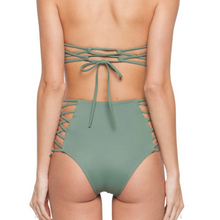 Damia bikini Bottom by Tori Praver Swimwear in olive