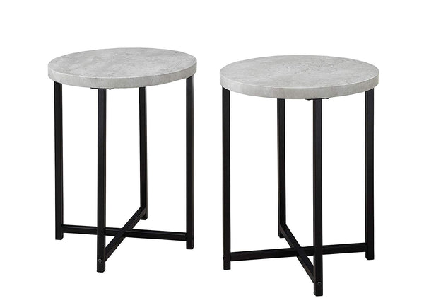 Set of 2 Multifunctional End Table