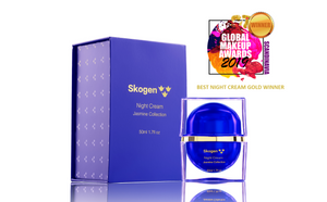 "Skogen awarded ""Best Night Cream - Gold Winner"", ""Eye Cream - Gold Winner"" and ""Best Moisturizer - Silver Winner"" in 2019 Global Makeup Beauty Awards"