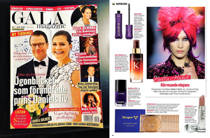 GALA MAGAZINE ARTICLE: INSPIRATION FROM BEAUTY BRANDS