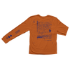 Longsleeve Lyric Tee: Orange