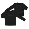 Wicklow Mountains Long Sleeve: Black on Black Edition + Digital Album