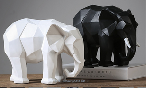 Elephant Abstract Sculpture