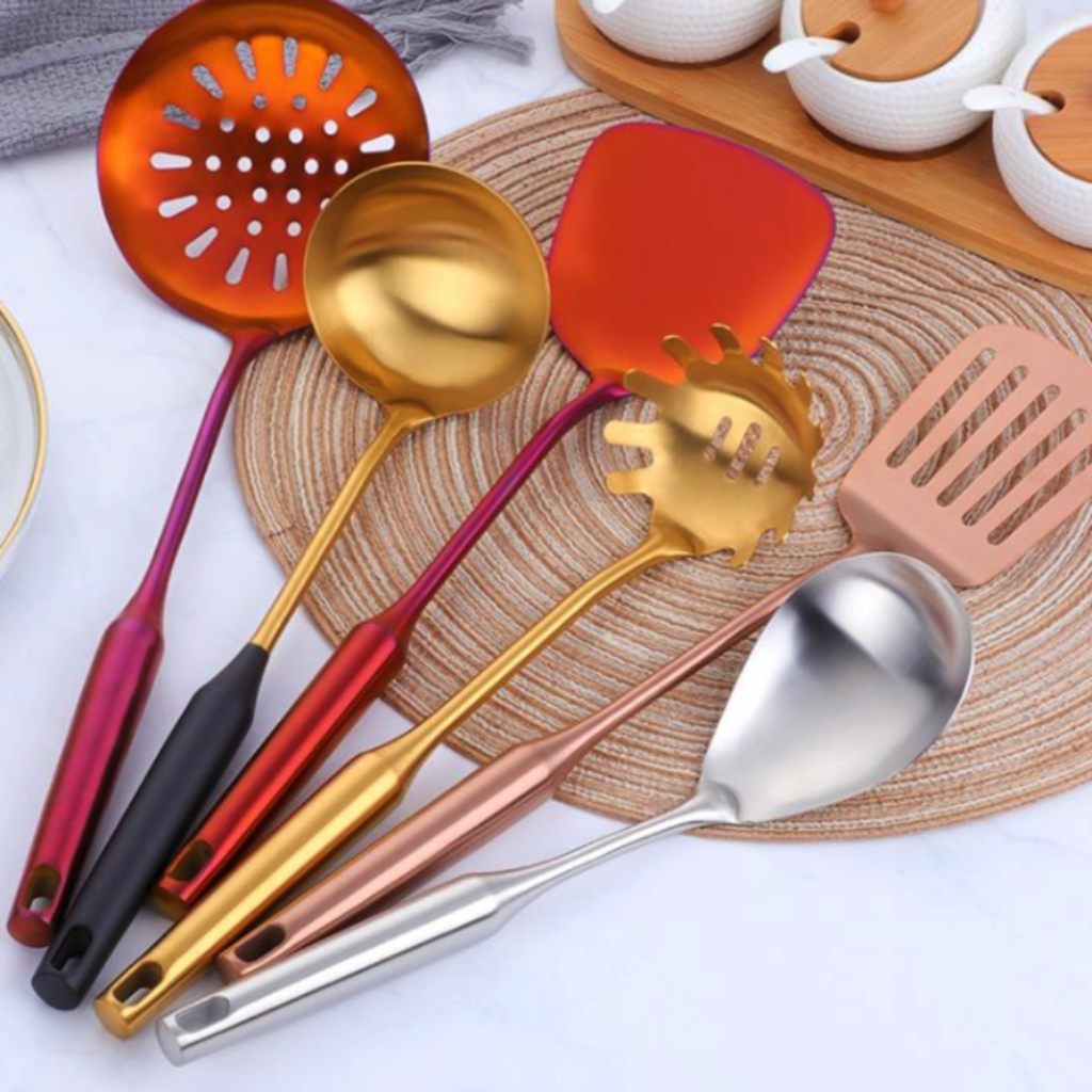 posche utensil collection in 5 colours FunkChez