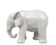 Load image into Gallery viewer, Elephant Abstract Sculpture