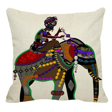 Load image into Gallery viewer, AFRICAN TRIBE CUSHION COVERS FunkChez