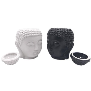 BUDDHA INCENSE BURNER IN BLACK AND WHITE - FUNKCHEZ