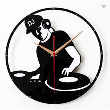 Load image into Gallery viewer, DJ Wall Clock FunkChez
