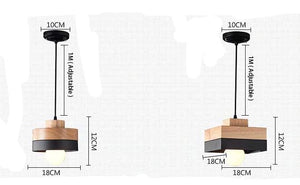 2 FABY CEILING LIGHTS WITH MEASUREMENTS
