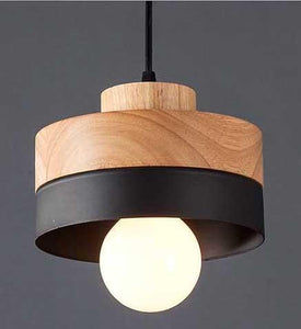 BLACK ROUND FABY TWO TONE CEILING LIGHT