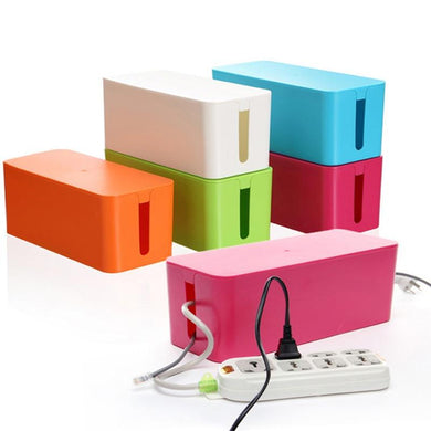Connexion box organizer for cables