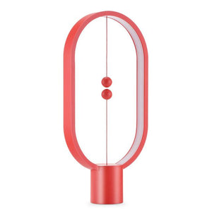 HENG MAGNETIC TABLE LAMP IN RED - FunkChez