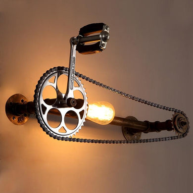 INDUSTRIAL BICYCLE CHAIN LIGHT FunkChez
