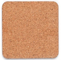 Load image into Gallery viewer, Masonite hardboard coaster with cork backing