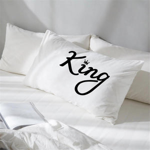 KING & QUEEN PILLOW COVERS FunkChez