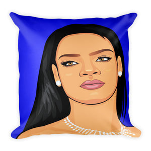 Rihanna throw pillow -FunkChez