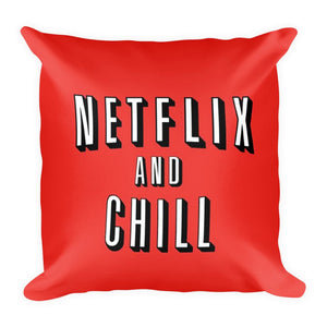 NETFLIX THROW PILLOW WITH COVER FunkChez