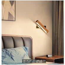Load image into Gallery viewer, NOAH ADJUSTABLE LAMP DISPLAYED IN A BEDROOM AS A SIDE LAMP