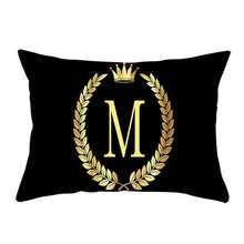 Load image into Gallery viewer, PERSONALIZED LETTER CUSHION COVERS FunkChez