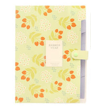Load image into Gallery viewer, Coloffice Kawaii Floral Filing Production Folder Multi-Function 5/8 Into Mezzanine File A4 Document File Folder School Office