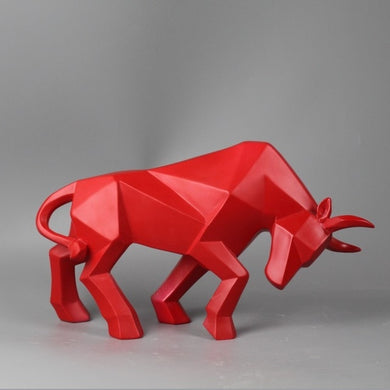 Bull Abstract Sculpture