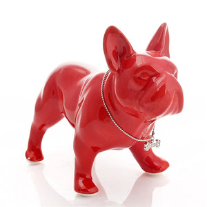 Nordic Modern Fashion Ceramic French Bulldog