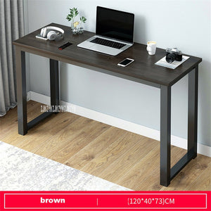 Modern Steel Frame Large Computer Desk for Home Office (Only ships to USA)