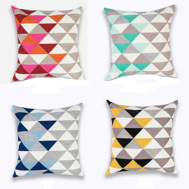 4 cushion covers from the Nortica cushion cover collection FunkChez