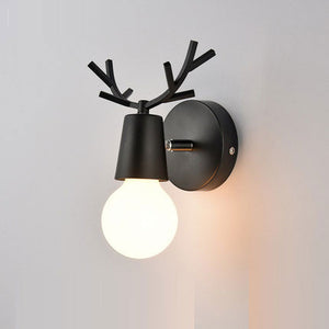 Ahorn wall lamp with black base and bulb FunkChez