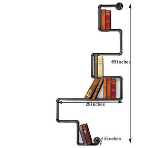 INDUSTRIAL BOOK RACK