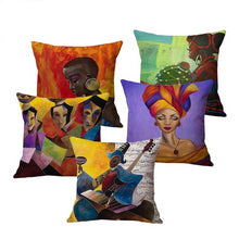 Load image into Gallery viewer, 5 cushion covers from the beaute culture throw collection