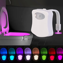 Load image into Gallery viewer, motion sensor 16 led changing toilet bowl lights FunkChez