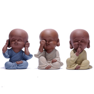 speak no evil, hear no evil and see no evil mini baby figurines