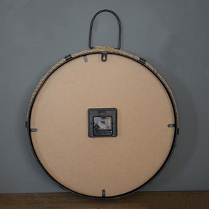 BACK OF THE VINTAGE MID CENTURY PARIS WALL CLOCK
