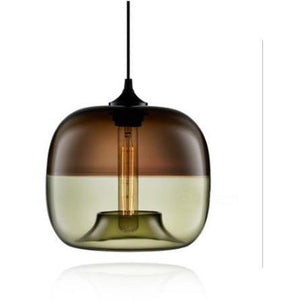 WALLE CEILING LAMP in Green and brown colour FunkChez