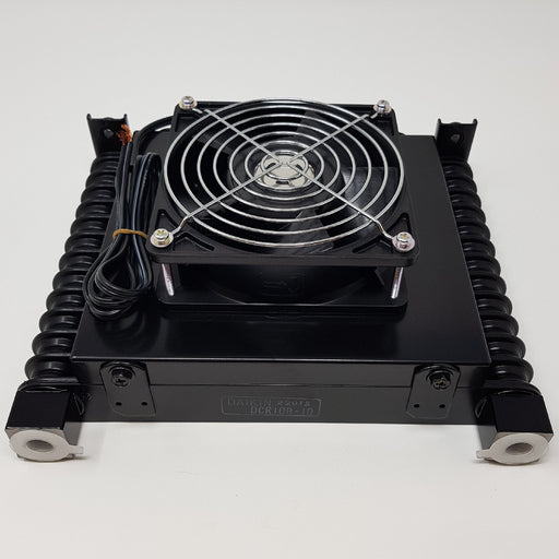 DCR-10B-10 Daikin Threaded Oil Cooler and Fan Assembly