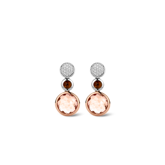 TI SENTO - Milano Boucles d'oreilles 7779TP in use