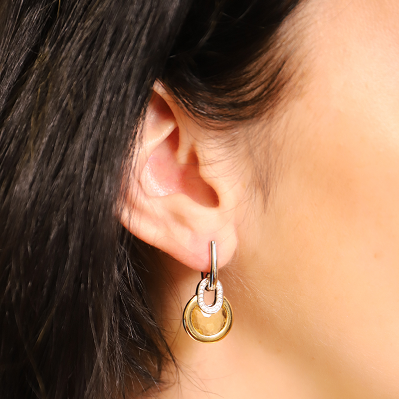 TI SENTO - Milano Boucles d'oreilles 7795TY in use