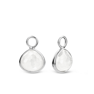 TI SENTO - Milano Charms pour les boucles d'oreilles 9192IW in use