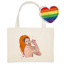 Charger l'image dans la galerie, Shopping bag LGBT Queer power de la marque Rose Queer