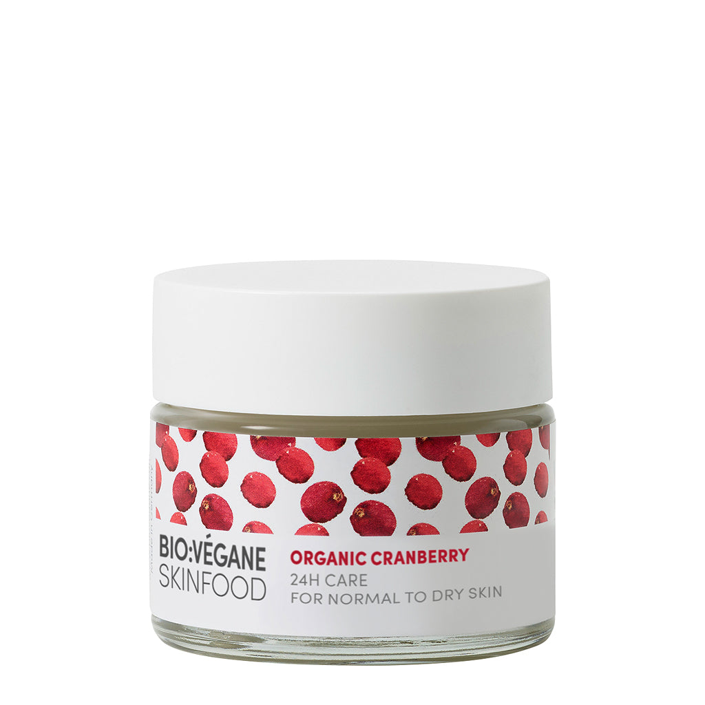 Organic Cranberry 24 Hr Facial Cream - Normal/Dry Skin